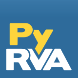 Logo for PyRVA